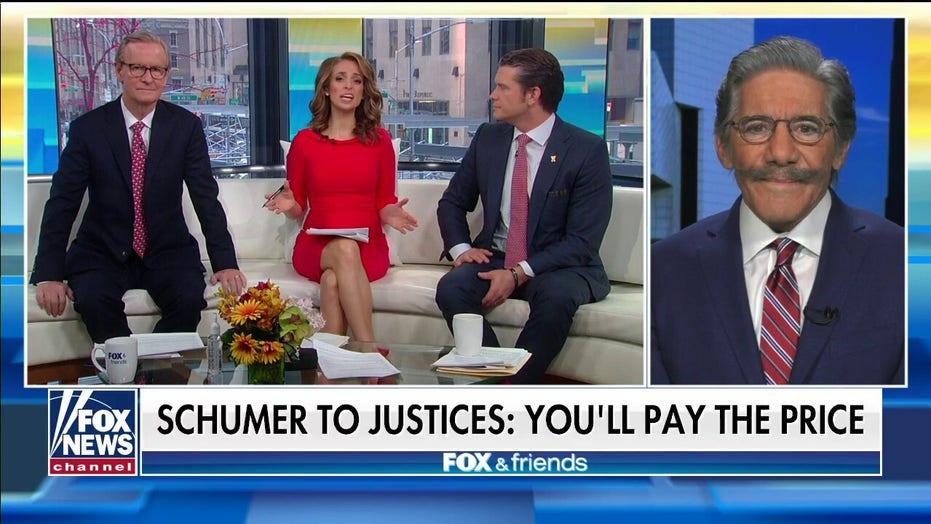 Geraldo Rivera: It's almost like Schumer is jealous of Nancy Pelosi's impeachment publicity