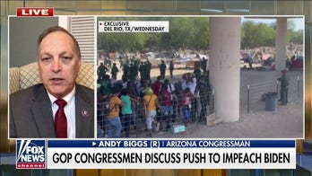 Andy Biggs: Impeaching President Biden is 'the right thing to do'