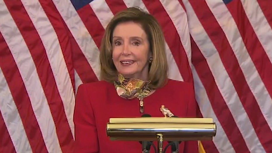 Pelosi snaps at reporter who asks about smaller coronavirus relief bill: 'Just go read my statement'