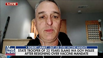 State trooper explains why he told liberal governor to 'kiss my a--' and quit over vaccine mandate