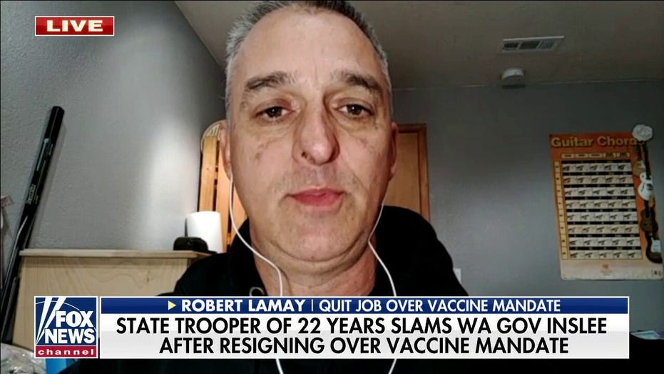 State trooper explains why he told liberal governor to 'kiss my a–' and quit over vaccine mandate