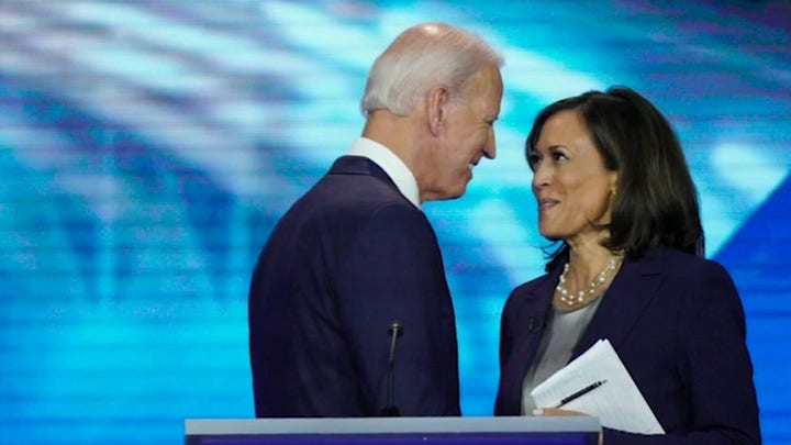 Have Joe Biden and Kamala Harris mended political fences?