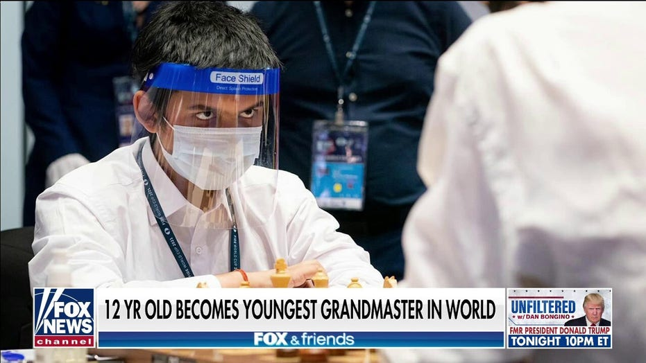12-year-old chess prodigy becomes youngest grandmaster in history