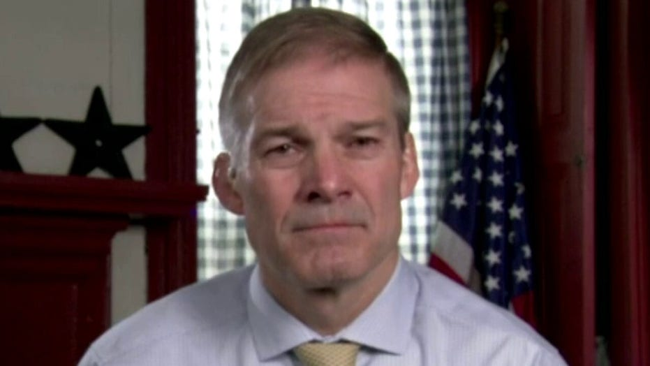 Rep. Jordan slams Biden admin for limiting media's access to migrant facilities amid surge at border