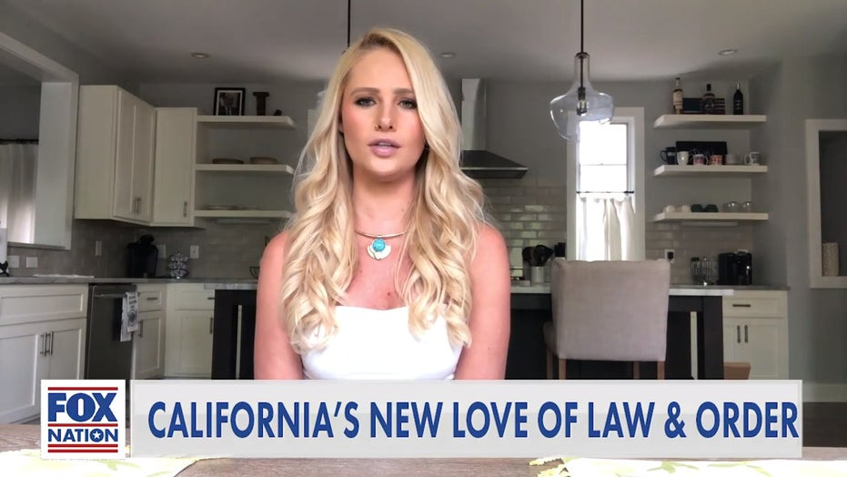 Tomi Lahren calls out California's 'new love' for law and order amid coronavirus pandemic
