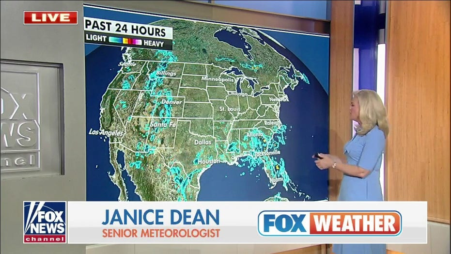 Southwest, Rockies face heavy rain and flood risk this week
