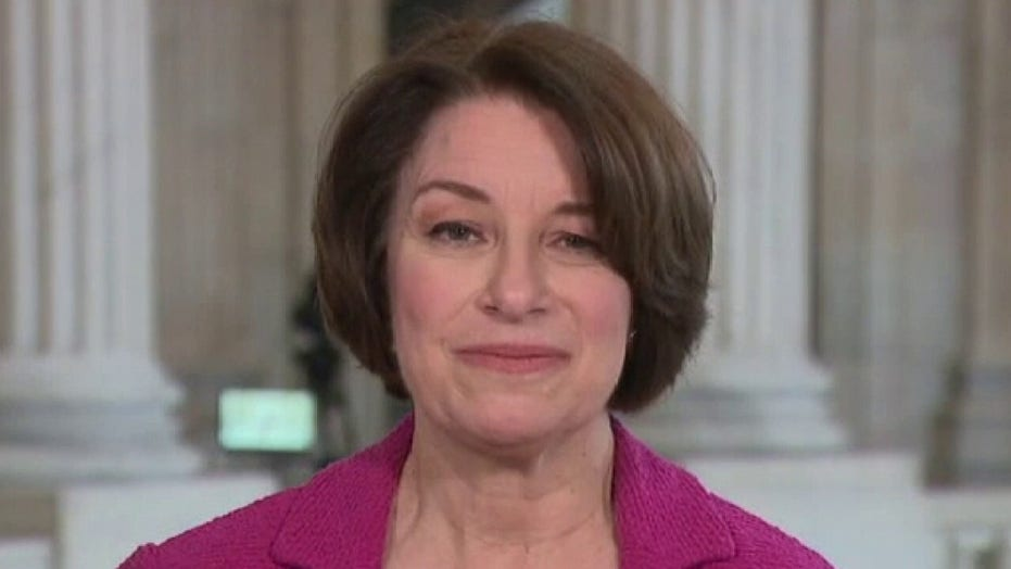 Klobuchar on possibility of Trump's political future after Senate acquittal: 'He is done'
