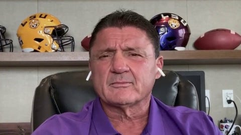 LSU coach Orgeron confident of football's return