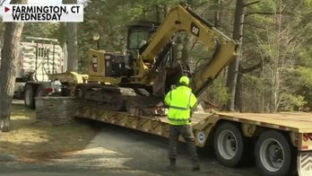 Excavator brought to Connecticut property linked to search for missing woman