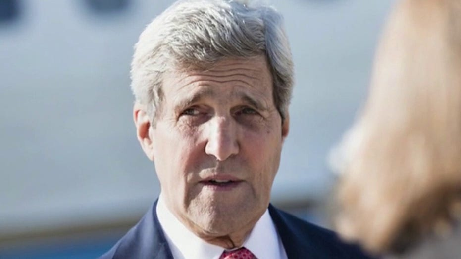 플래시백: John Kerry says there will be no 'peace between Israel and the Arab world'