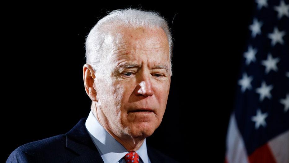 Biden says accuser changed story