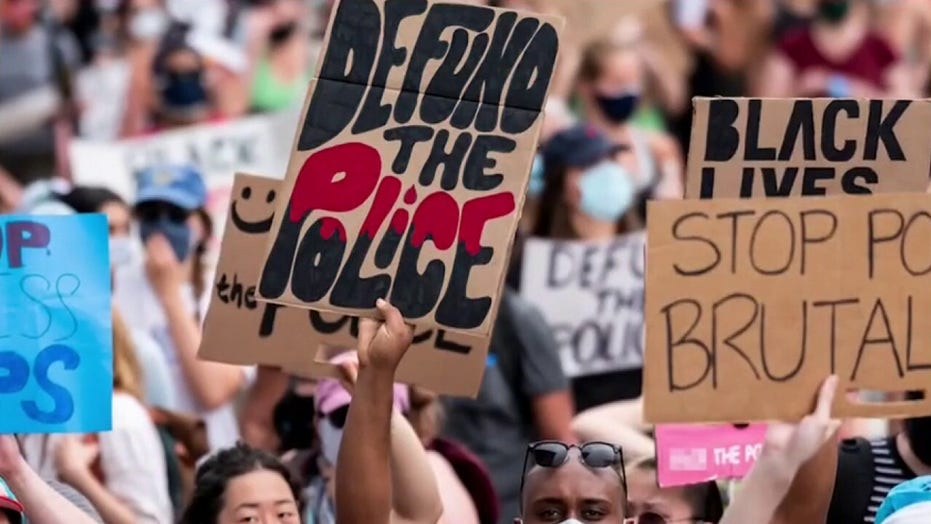 Liberal-run cities to refund police budgets as crime skyrockets: 'The Big Saturday Show' reacts
