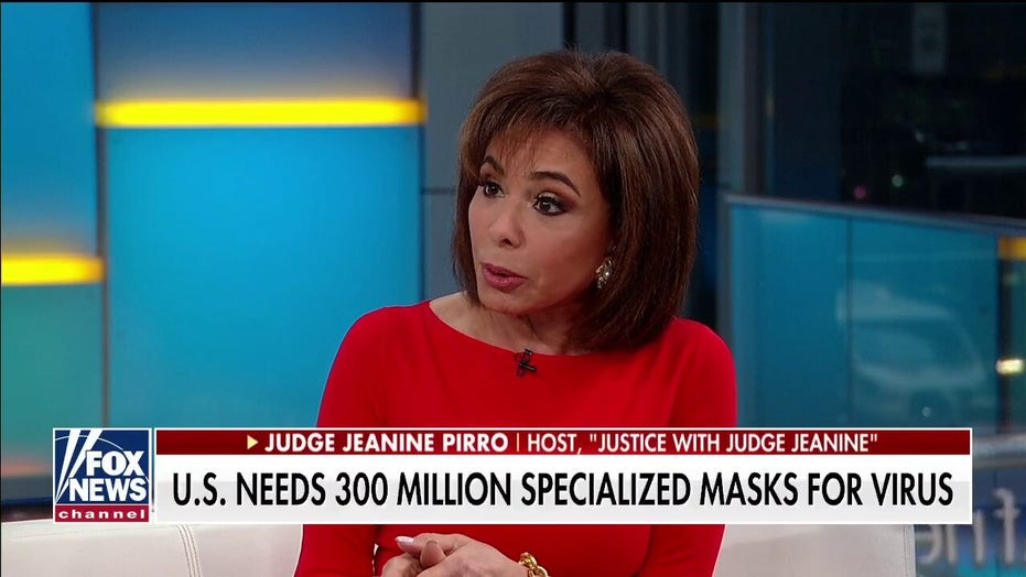 Judge Jeanine Pirro: When there's a pandemic, you can't count on others to help America