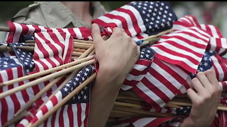 Boy Scouts and other groups banned from planting American flags on veterans' graves due to coronavirus