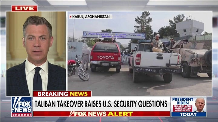 Banks: Weapons left behind in Afghanistan will be used against Americans when forced back to eradicate ISIS-K