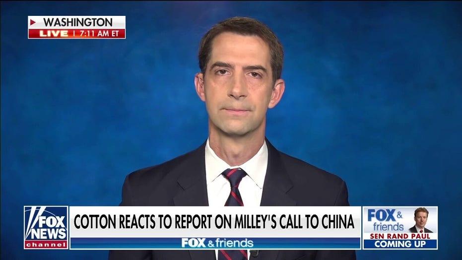 汤姆·科顿: 根. Milley needs to testify to Congress on report of secret call to China