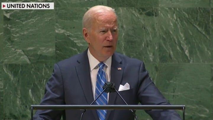 Biden abandons US strength to cower at UN