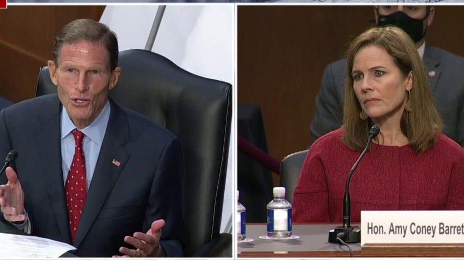 Blumenthal incorrectly insists Barrett once called her own gun position 'radical' in opinion