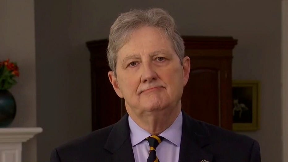 Sen. John Kennedy to Dem colleague on Barrett criticism: 'Sell crazy somewhere else'