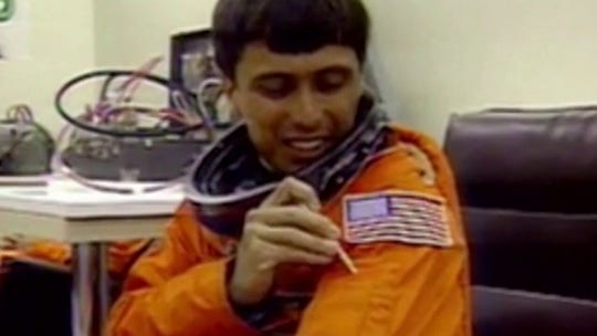 NASA's first Hispanic-American astronaut looking to revolutionize space travel