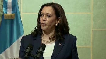 VP Harris tells Guatemalans 'do not come' to US border, urges corruption fight