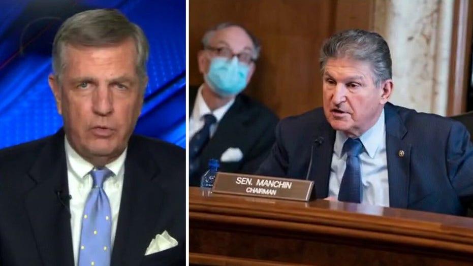 Democrats risk forfeiting Senate majority with attacks on Manchin: Hume