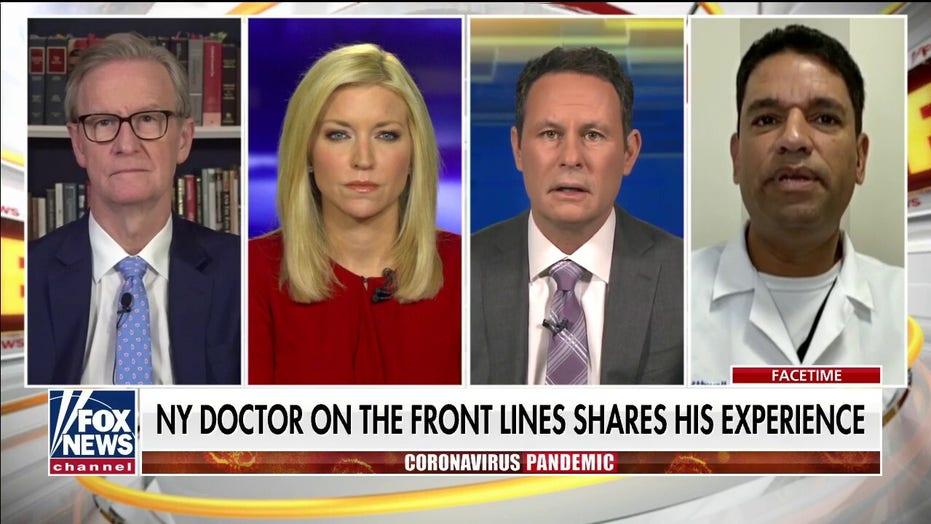 NY doctor on the battle against coronavirus