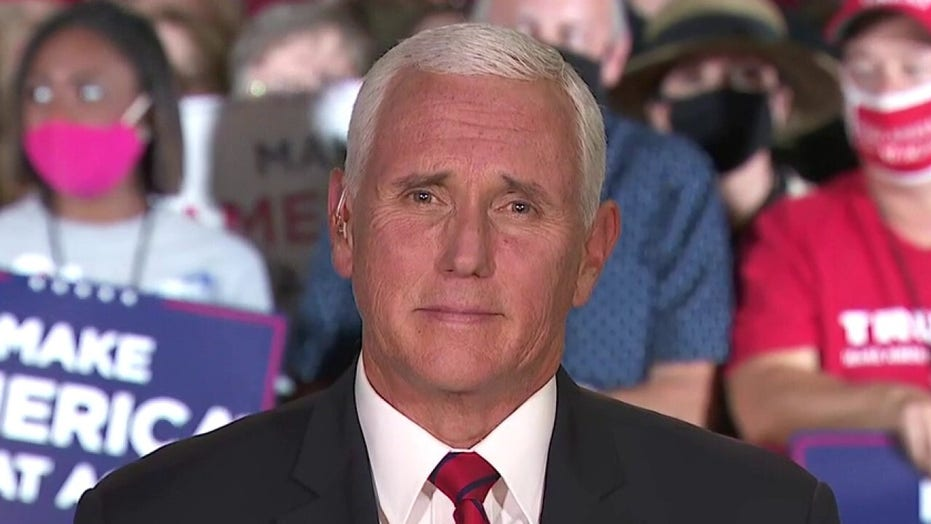 Pence calls on Biden to 'come forward and come clean' with answers on son Hunter's scandal