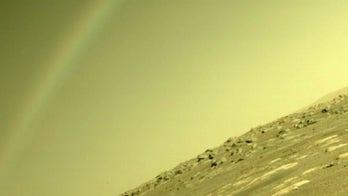NASA explains mystery 'rainbow' on Mars