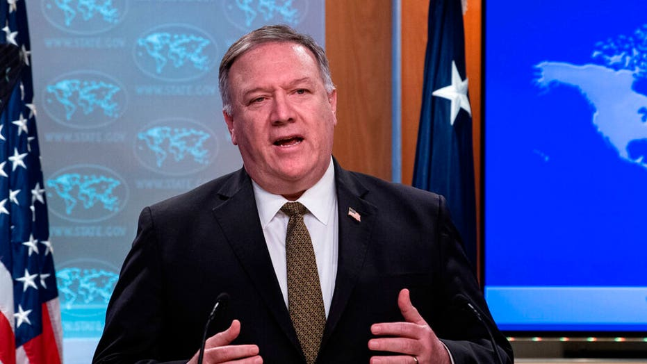Pompeo: Iran fooling no one, we're denying regime resources to threaten America