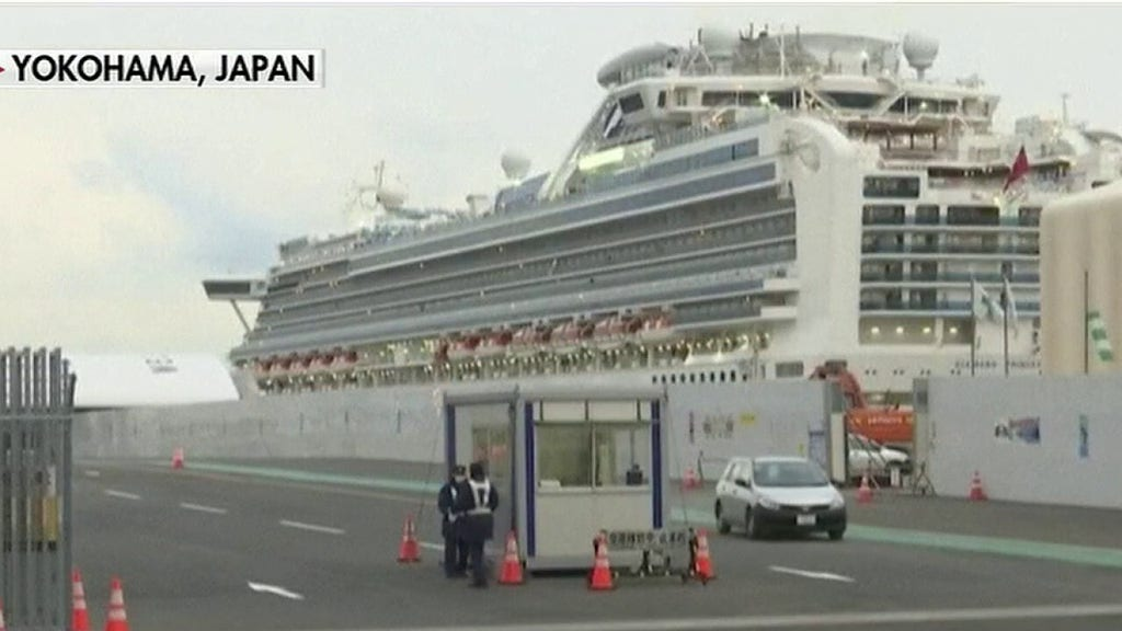 British man sickened aboard Diamond Princess dies in quarantine: report
