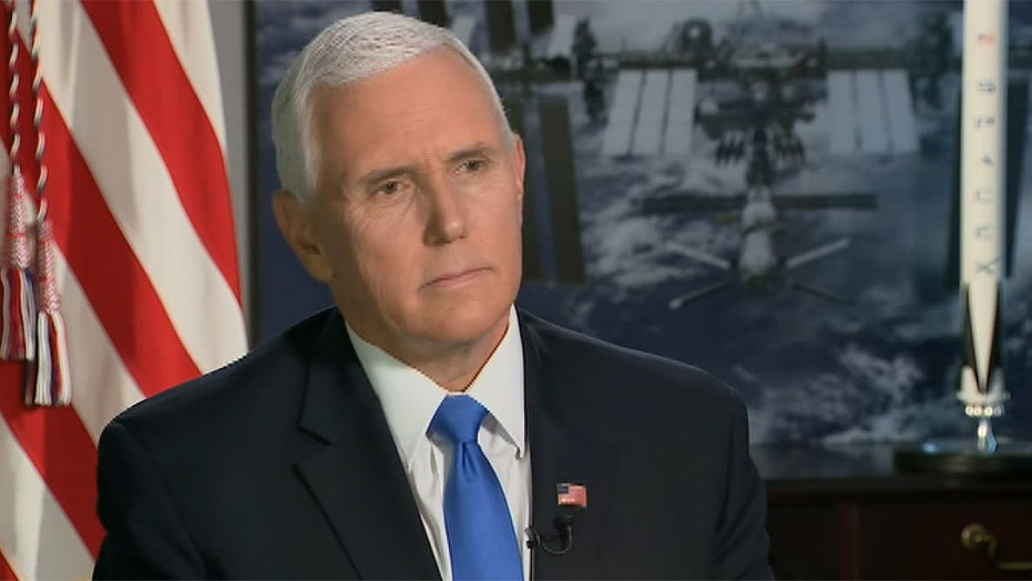 Vice President Pence says he's not taking hydroxychloroquine
