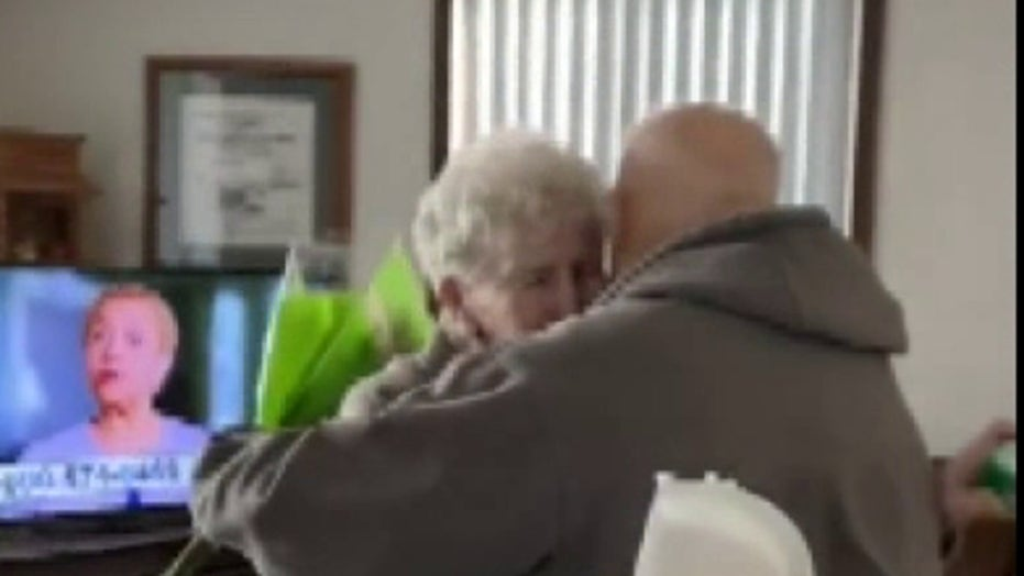 Minnesota couple reunited in time for wife's birthday