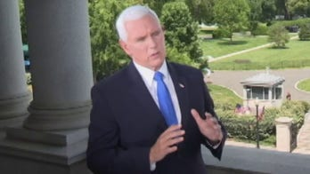 'Watters' World' exclusive: Pence hits Biden over silence on riot victims, defends Trump's church visit