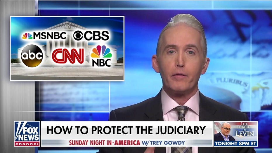Gowdy to media on 'overtly partisan' SCOTUS coverage: 'Try to at least fake being fair'