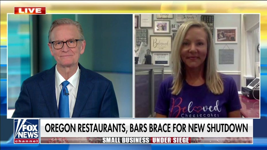 Oregon small business owner slams governor's new shutdown order: 'Against our constitutional rights'