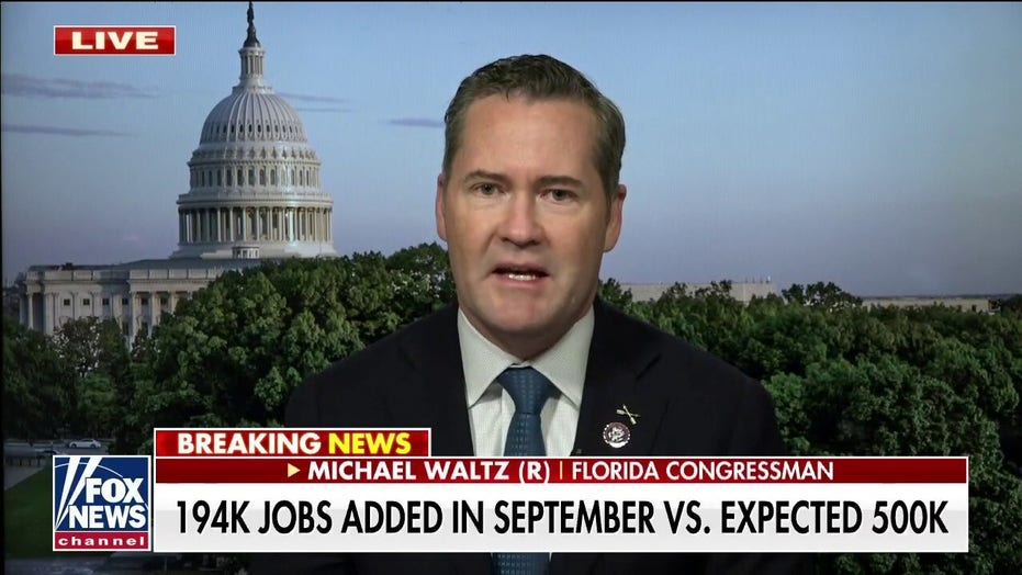 Michael Waltz: Biden's 'anemic' economic recovery looks like repeat of Obama years
