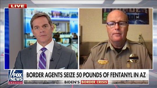 Arizona sheriff sounds alarm on massive fentanyl seizures: 'The war on drugs is back'