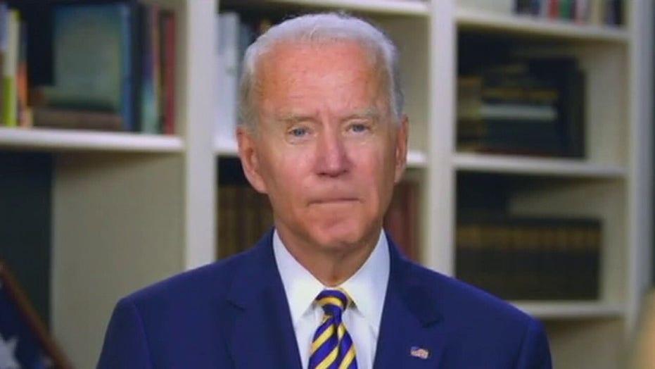Joe Biden downplays record jobs numbers