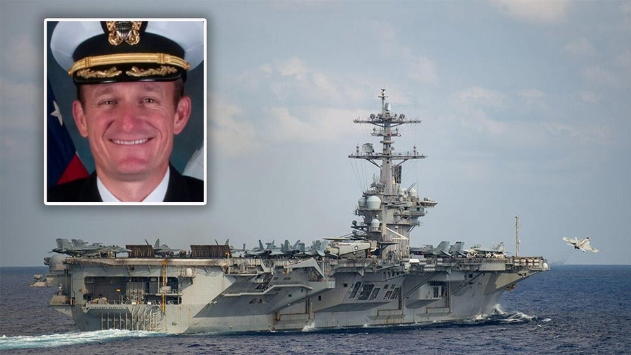 Ousted USS Theodore Roosvelt captain tests positive for coronavirus, defense official says