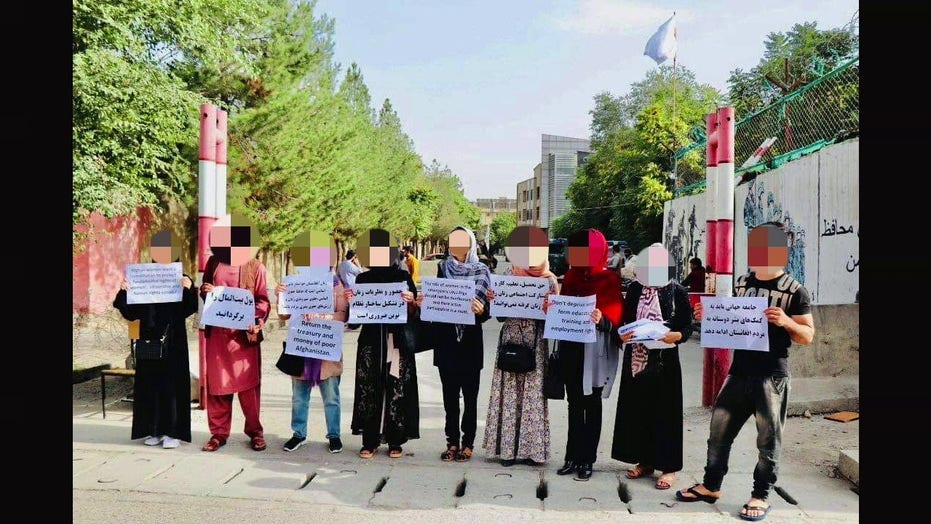 Afghanistan women's rights protester says Taliban violence won't stop future demonstrations