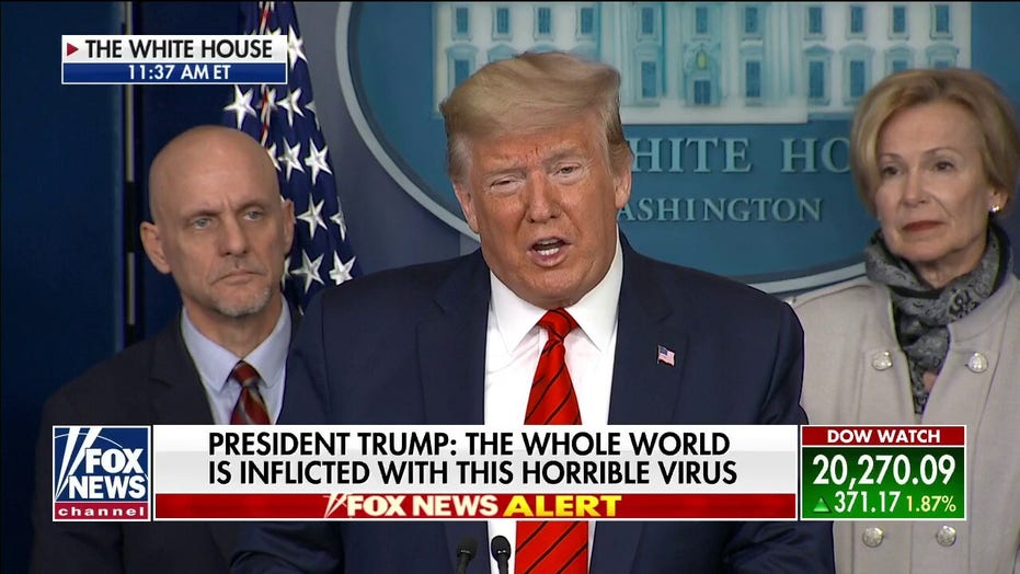 Trump: Working with Congress to provide relief to most affected