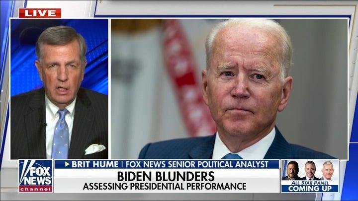Brit Hume sends warning about Biden's 'alarming' mental capacity