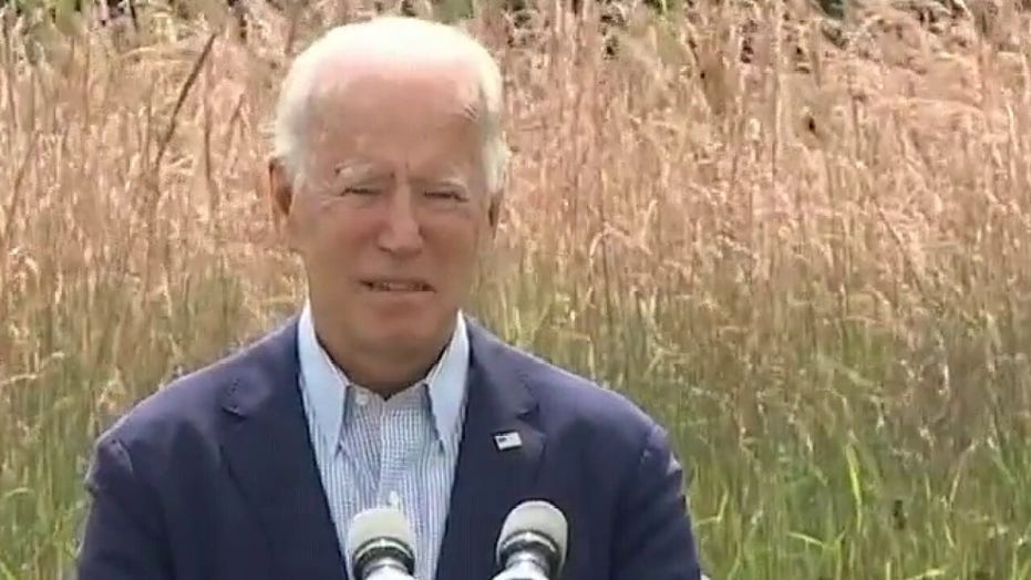 Chaffetz blasts Biden for climate change Trump attack: former VP 'had his chance and he blew it'