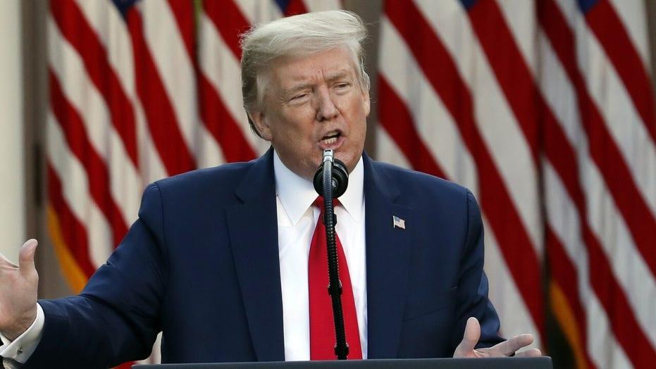 President Trump says US has conducted 5.4 million coronavirus tests