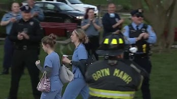 First responders honor hospital workers in Pennsylvania