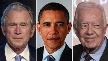 Former Presidents Bush, Obama and Carter comment on nation's unrest