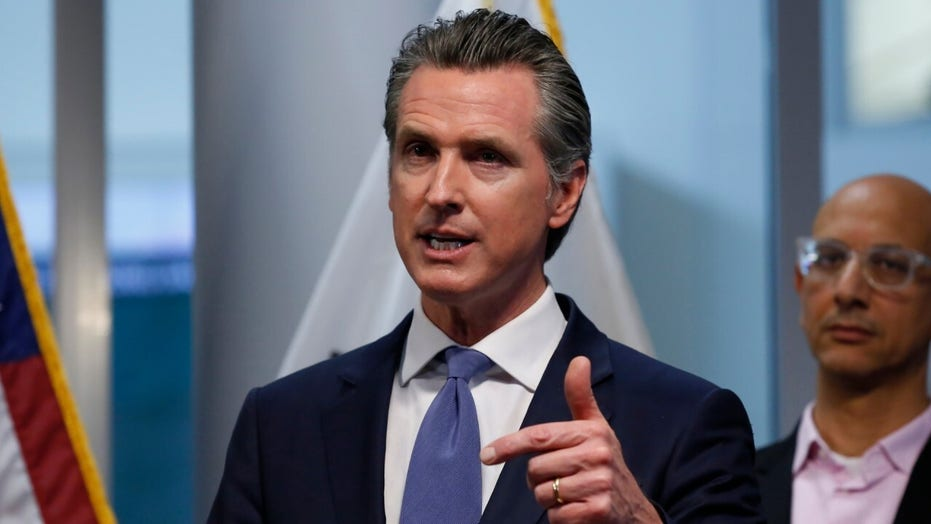 California Gov. Gavin Newsom issues statewide 'stay at home' order