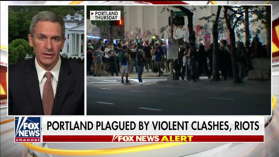 Portland mayor demands Trump keep federal agents 'in your own buildings, or have them leave our city'