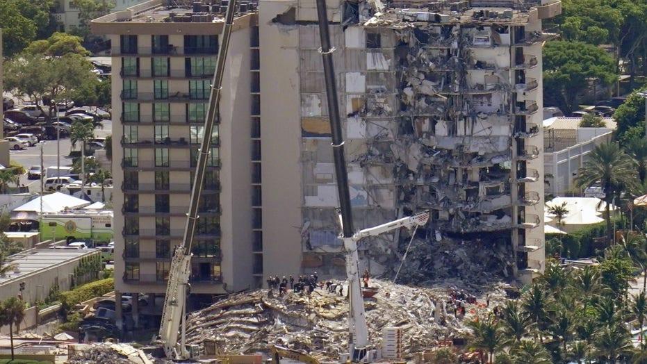 マイアミのコンドミニアム崩壊: 女性は電話で夫に、建物が倒れる前にプールの洞窟を見たと話しました, レポートによると